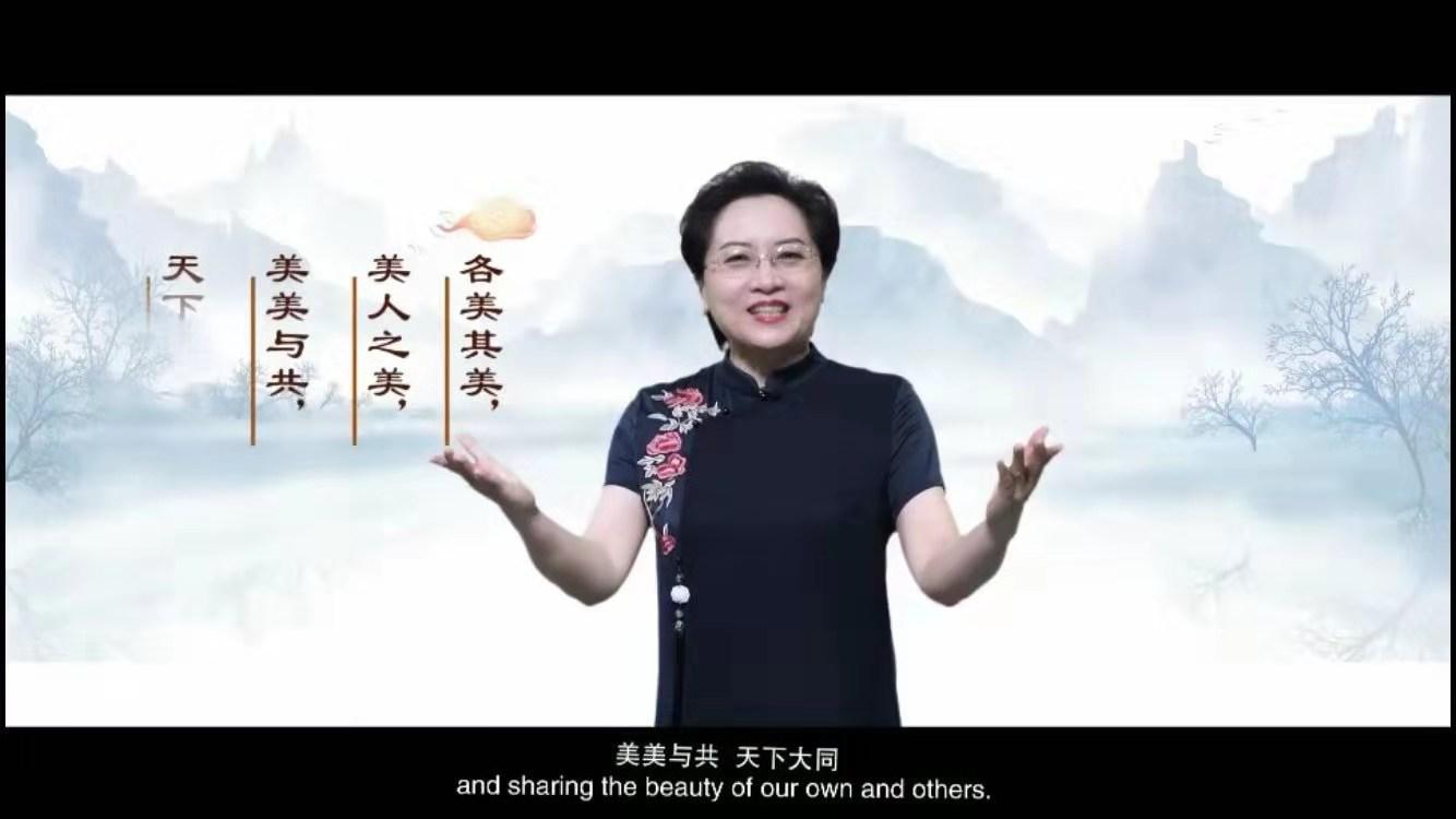 河南:外国留学生中国国情教育有了线上课程