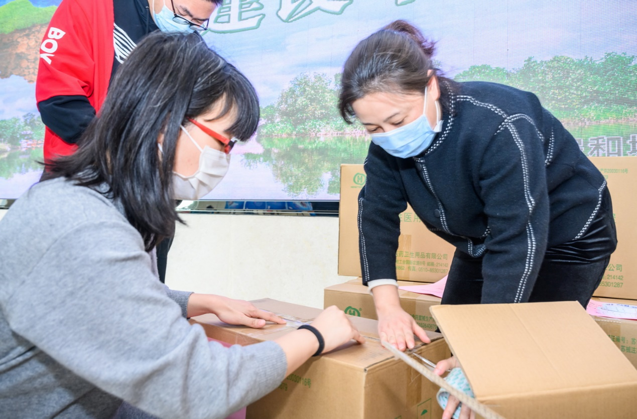 十倍为报!这个高新区回赠日本丰川5万只口罩