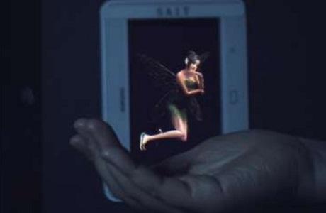 """不到一厘米!超薄交互式全息顯示屏問世逼真全息影像有望""""走入""""移動設備"""