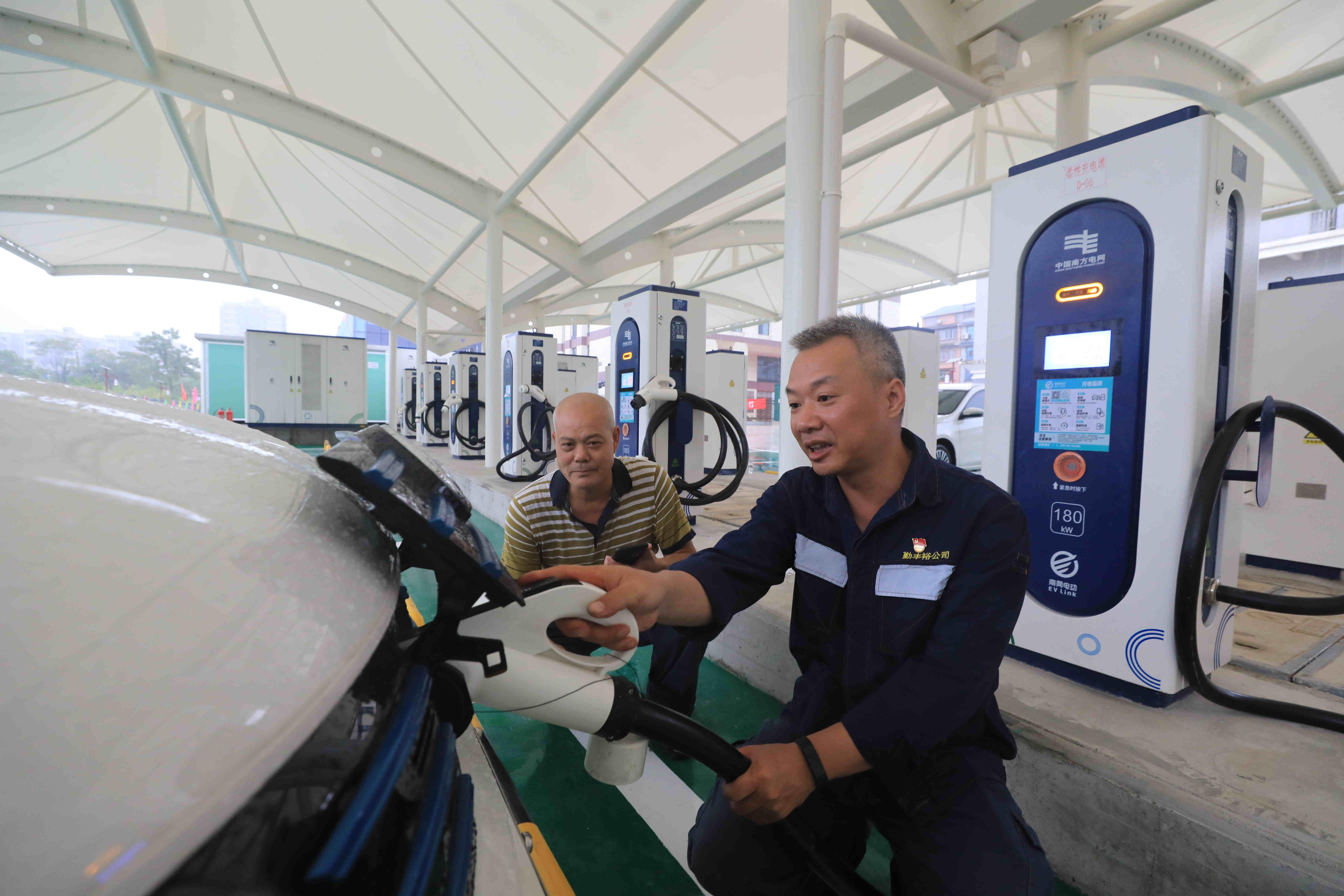 广西第一座县域综合能源服务站投入使用,总投资2201万元