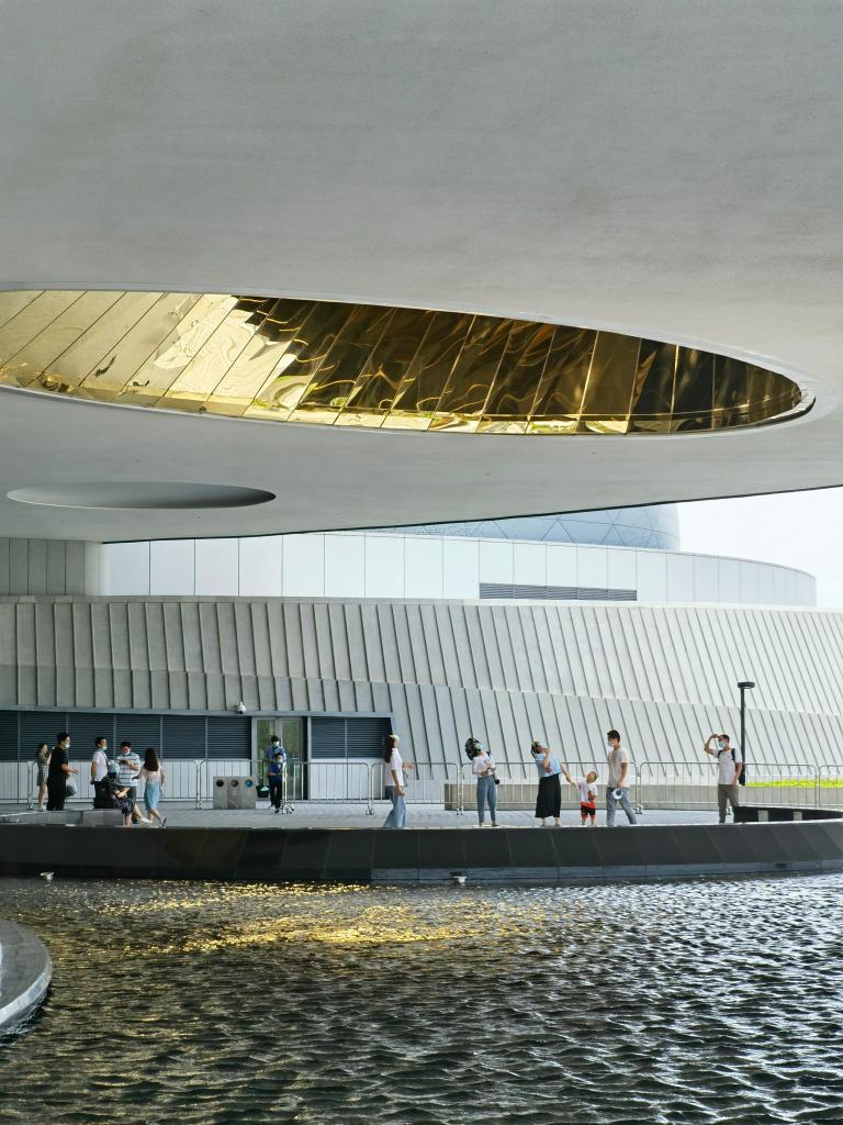 上海天文馆迎来压力测试 迄今为止全球建筑规模最大天文馆