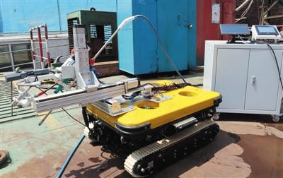 """智能机器人""""下海"""",多项创新助力水下自主检修"""