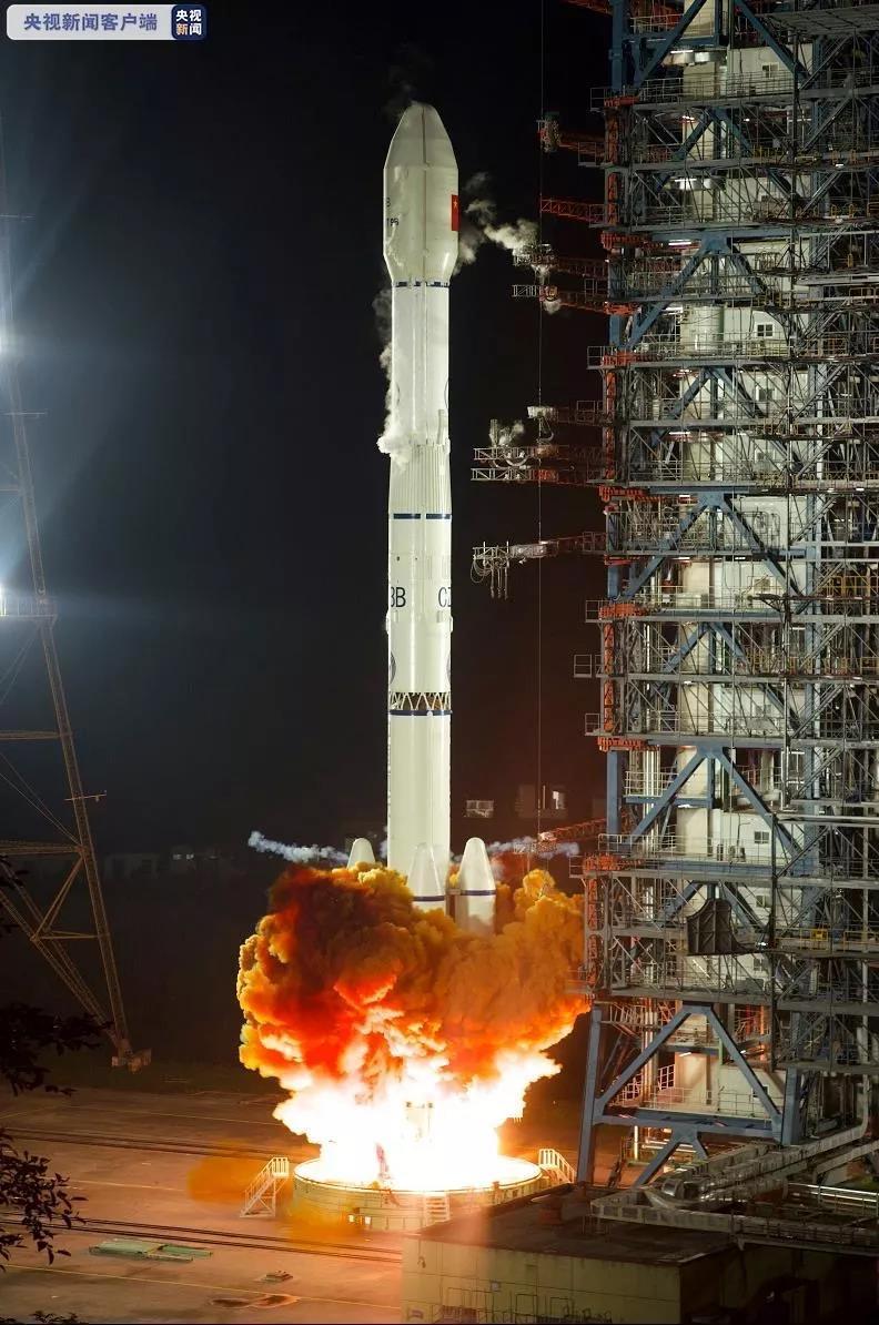 长三乙火箭成功发射中星9B卫星 系长征三号甲系列火箭第78次发射