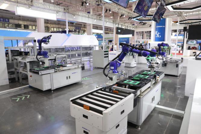 数字化智能工厂亮相机器人大会,展现技术实力