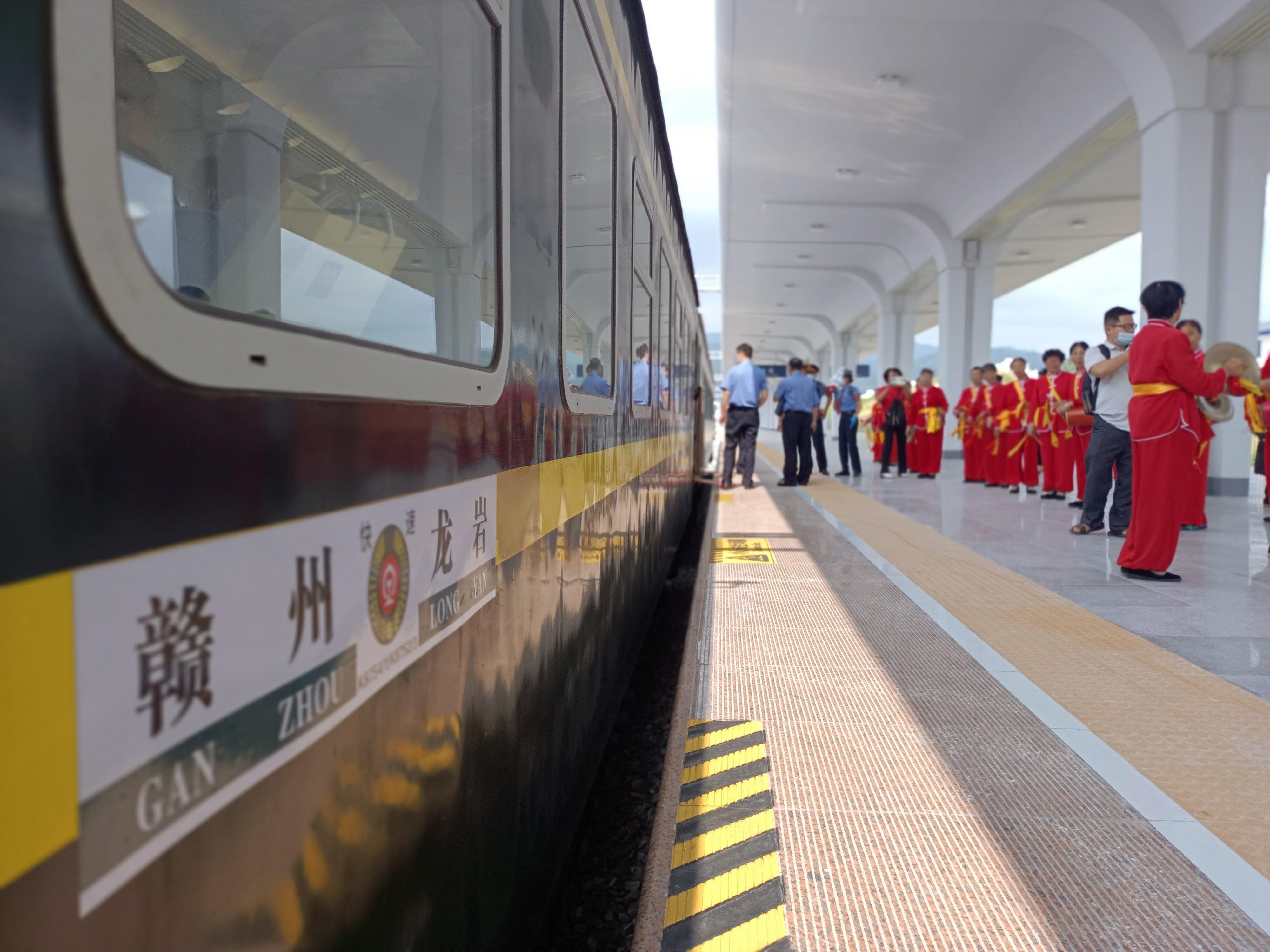 兴泉铁路兴国至福建清流段正式开通
