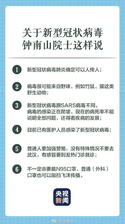 钟南山谈疫情,让更多人了解新型冠状病毒