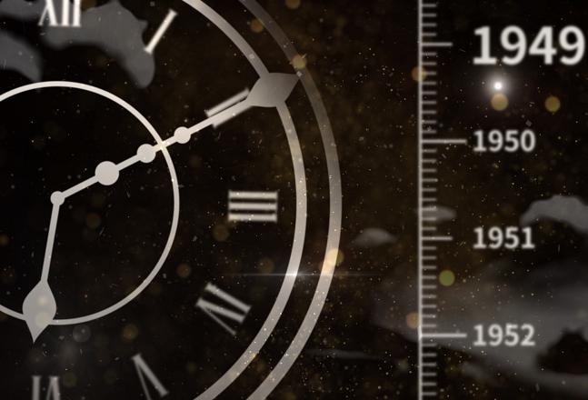 70年浓缩成24小时,带你乘坐时光机